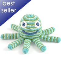 green octopus rattle tttt