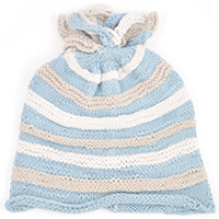 organic Knitted baby hat thsm